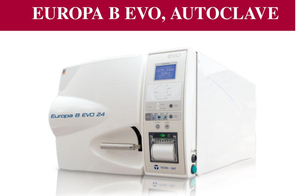 Autoclave Europa B EVO