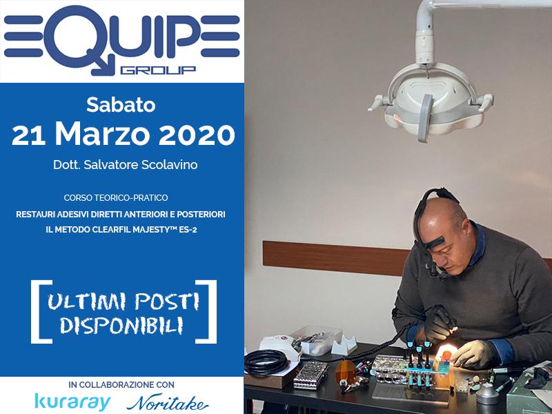 Evento Corso 21/03/2020